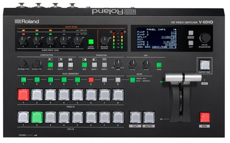 Roland System Group V-60HD HD Video Switcher V-60HD