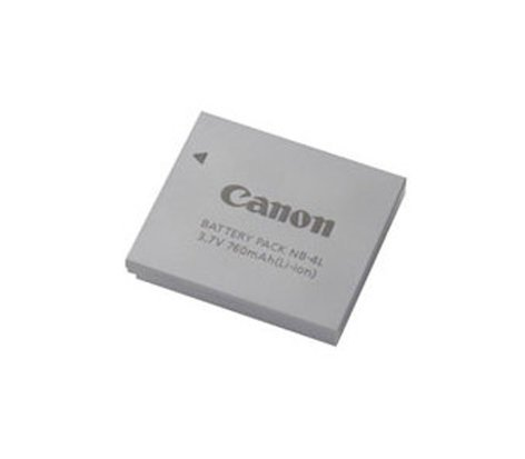 Canon NB4L Lithium Ion Rechargable Battery Pack NB4L