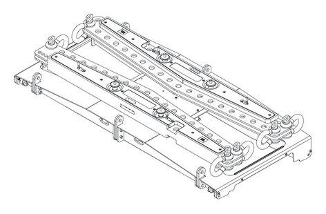 JBL VTX-A12-AF-EB ArrayFrameExtensionBar Extension Bar To Be Used With The VTX A12 AF VTX-A12-AF-EB