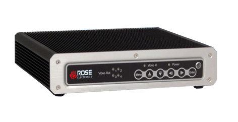Rose Electronics VWL-B122FD UltraVista LC 2 AV Video Wall Controller for 2x2 Displays, DVI I/O VWL-B122FD