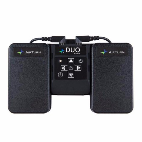 Airturn BT-106 DUO Digital Page Turner for Tablet, Mac, PC, Smartphone BT-106