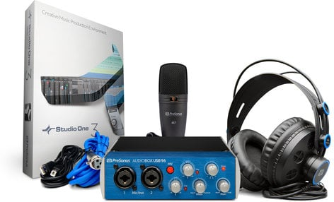 PreSonus AudioBox 96 Studio Complete Hardware/Software Recording Kit AUDIOBOX-96-STUDIO