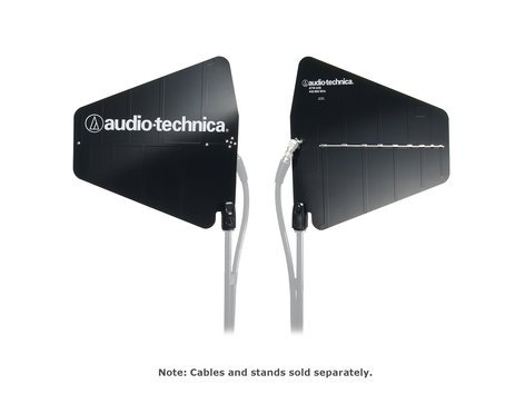 Audio-Technica ATW-A49 Pair of UHF Wide-Band Directional LPDA Antennas ATW-A49