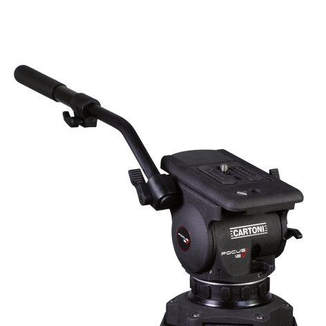 Cartoni SDS12CXM Focus 12 2-Stage CF Smart Stop Tripod wtih Mid Level Spreader SDS12CXM