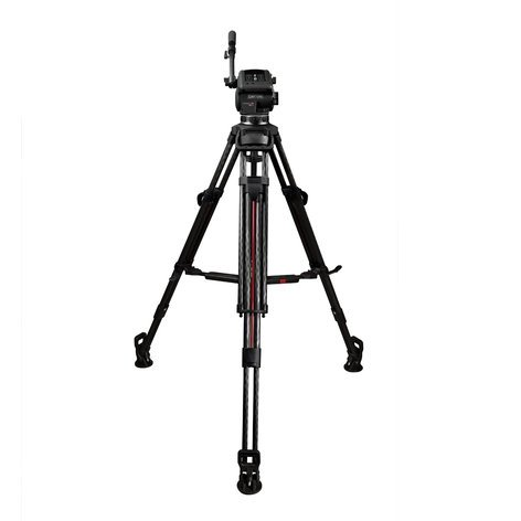 Cartoni SDS12CXM Focus 12 2-Stage CF Smart Stop Tripod wtih Mid Level Spreader SDS12CXM