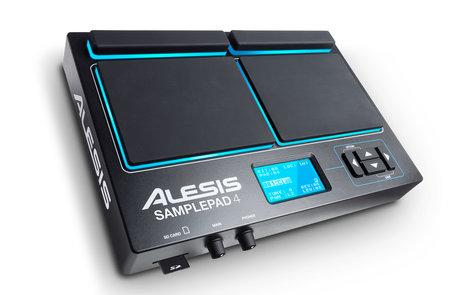 Alesis SamplePad 4 Electronic Multi-Pad Drum Instrument SAMPLE-PAD-4