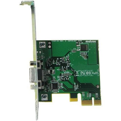 Matrox PCIE/ADP MXO2 Host Adapter PCIE/ADP