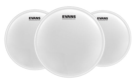 "Evans ETP-UV1-F UV1 Coated Tom Pack-Fusion, 10"", 12"", 14"" ETP-UV1-F"