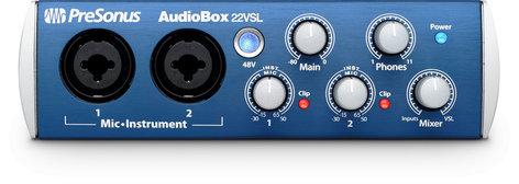 PreSonus AudioBox 22VSL [RESTOCK ITEM] 2 x 2 USB 2.0 Audio/MIDI Interface AUDIOBOX-22VS-RST-07