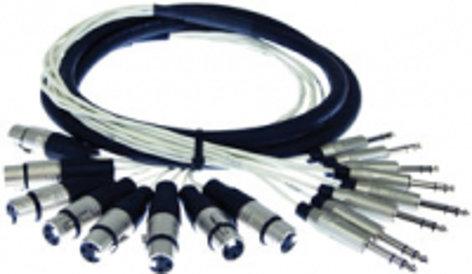 Pro Co MT8XFXM-100 100 ft. 8-Channel XLR-F Fan to XLR-M Fan Studio Patch Snake MT8XFXM-100