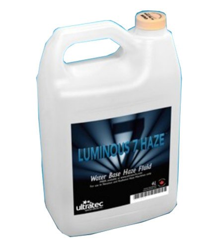 Ultratec CFF-2855 4L Container of Luminous 7 Haze Fluid CFF2855
