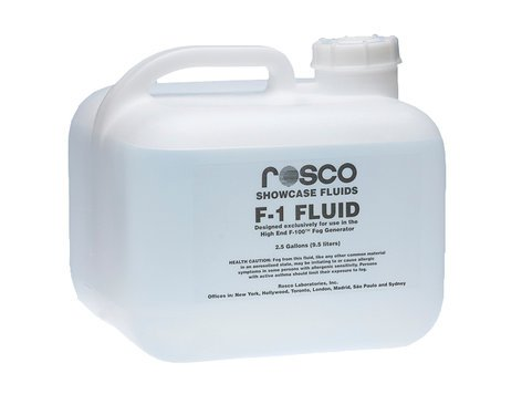 Rosco Laboratories F-1 Fog Fluid 2.5 Gallons of F-1 Fluid F1-FOG-FLUID