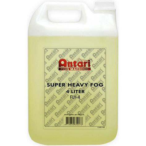 Antari Lighting & Effects FLY-4 Fog Juice, 4L, Heavy Yellow FLY-4