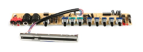 Allen & Heath 003-653X  Stereo Channel Strip PCB Assembly for ZED-24 003-653X