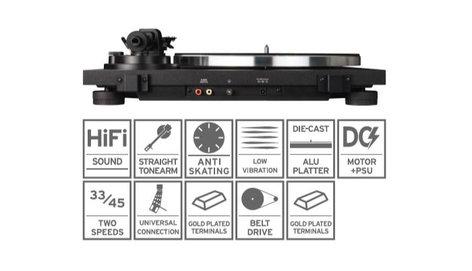 Reloop TURN2 Analog Belt-Driven Hi-Fi Turntable TURN-2