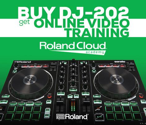 Roland DJ-808 DJ Controller with Serato DJ Integration DJ-808
