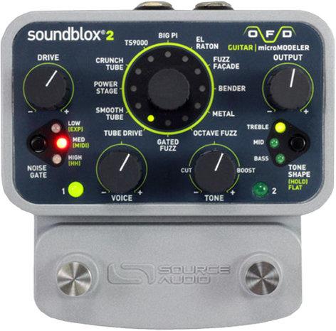 Source Audio SA228 SoundBlox2 OFD Bass microModeler Fuzz Pedal SA228