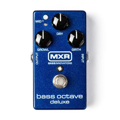MXR Pedals M288 Bass Octave Deluxe Bass Effect Pedal, Octave M288-MXR