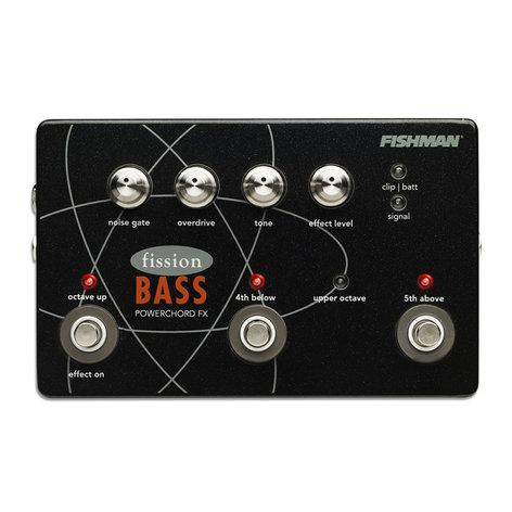 Fishman PRO-FSN-BAS Fission Bass Powerchord FX Pedal PRO-FSN-BAS