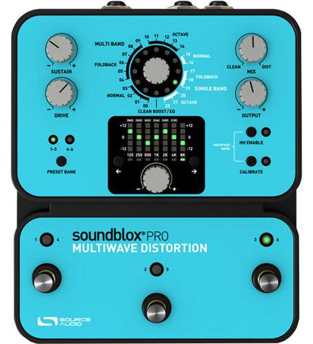 Source Audio SA141 SoundBlox Pro Multiwave Bass Distortion Pro SA141