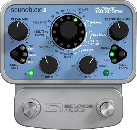 Source Audio SA221 SoundBlox 2 Multiwave Bass Distortion Pedal SA221