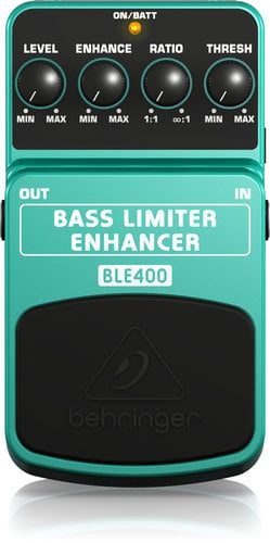 Behringer BLE400 Bass Pedal, Limiter/Enhancer BLE400