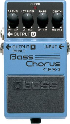 Boss CEB-3 Bass Chorus Pedal CEB-3