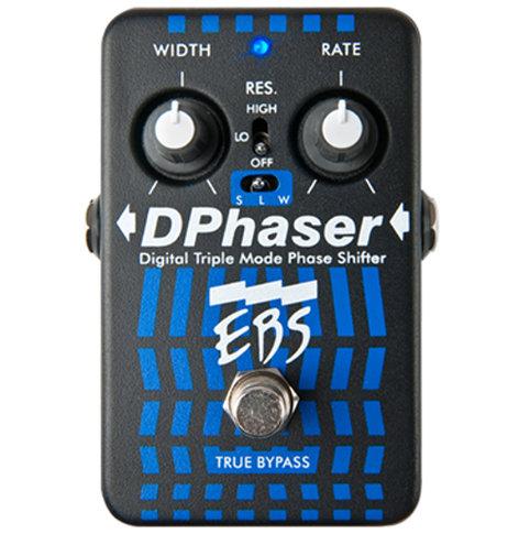 EBS DPhaser Triple Mode Bass Phaser Pedal EBS-DP