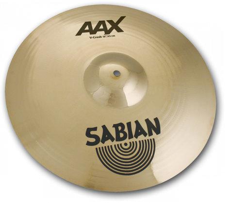 """Sabian 21806XBV  18"""" AAX V-Crash Cymbal 21806XBV"""