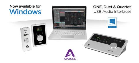 Apogee Quartet 12x8 USB Audio/MIDI Interface for iOS & Mac QUARTET-IOS-MAC-LO
