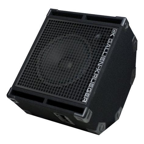 "Gallien-Krueger 115RBH/8 1x15"" 400W Bass Speaker Cabinet 115RBH/8"