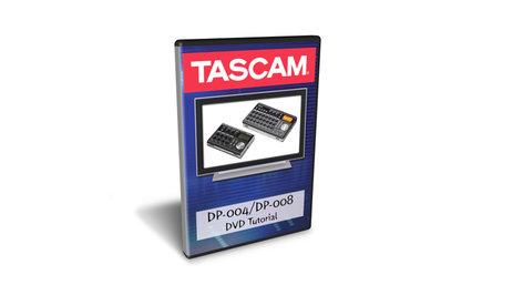 Tascam DP-004/DP-008 DVD Tutorial for Digital Pocketstudio Operation and Recording Techniques DP-0048DVD