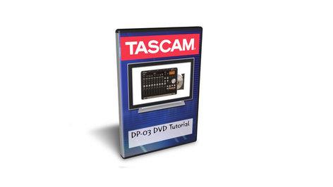 Tascam DP-03 DVD Tutorial for Recording Techniques using DP-03 Digital Portastudio Units DP-03DVD