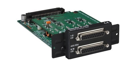 Tascam IF-AE16 16-Channel AES/EBU Expansion Card for DA-6400 IF-AE16
