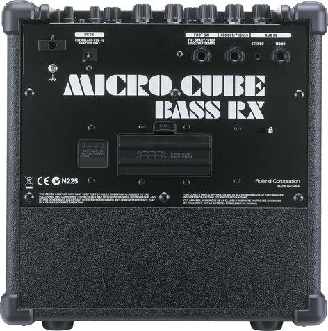 "Roland Micro Cube Bass RX 2W 4x4"" Bass Combo Amplifier MICRO-CB-RX"