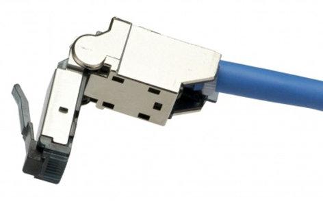 Platinum Tools 106230 Cat6A Flex Connector Shielded Cat6A/Cat7 Connector 106230