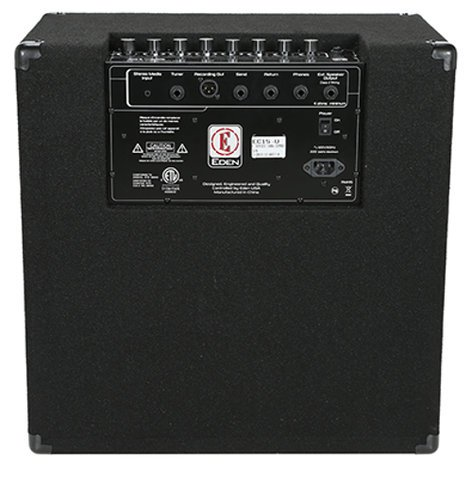 "Eden Amplification EC15 180W 1x15"" Bass Combo Amplifier EC15"