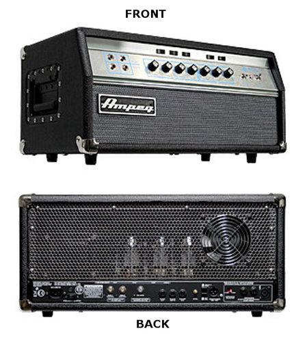 Ampeg SVT-VR [B-STOCK MODEL] 300W 70s-Era Vintage Reissue Tube Bass Amplifier Head SVTVR-BSTOCK