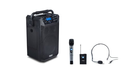 Denon AUDIO-COMMANDER Audio Commander Professional Portable/Mobile PA with onboard Bluetooth®/USB/SD Player AUDIO-COMMANDER