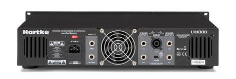 Hartke LH1000 2x500W Bass Amplifier Head LH1000
