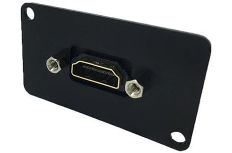 Ace Backstage C-26122 Connectrix Series HDMI Female to Female Panel Mount Connector C26122