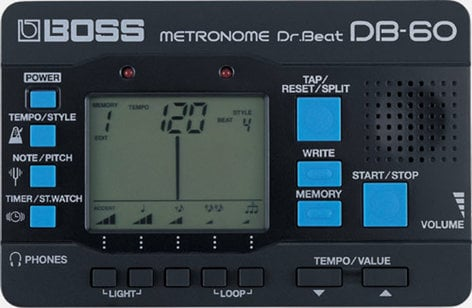 Boss DB-60 Dr. Beat Metronome DB60-BOSS