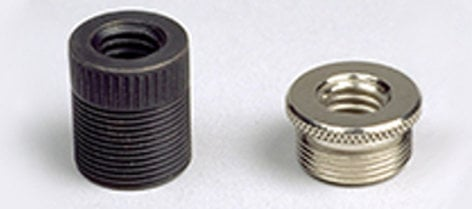 "AEA AEA-TA2 5/8""-27M to 3/8""-16F Black Brass Microphone Thread Adapter AEA-TA2"