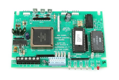 Leviton PC022-000 2408CD Firing Card PCB Version C PC022-000