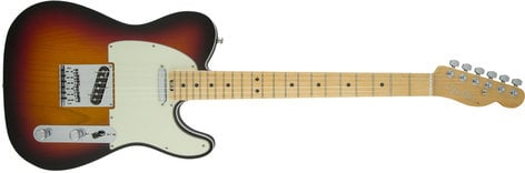 Fender TELE-AMELITE-MPL-DIS American Elite Telecaster [DISPLAY MODEL] Single Cutaway SS Electric Guitar with Alder Body and Maple Fingerboard TELE-AMELITE-MPL-DIS