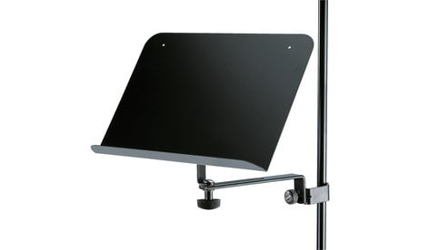 K&M Stands 115/2 Sheet Music Holder in Black 115/2