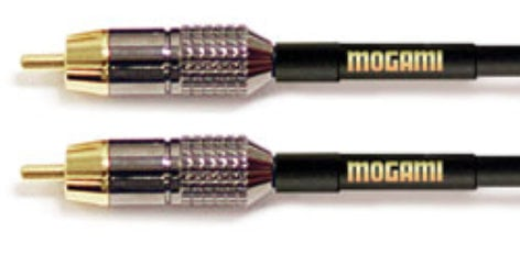 Mogami Gold RCA-RCA RCA to RCA 12ft, Gold GOLD-RCA-RCA-12