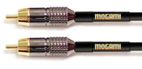 Mogami Gold RCA-RCA RCA to RCA 6ft, Gold GOLD-RCA-RCA-6