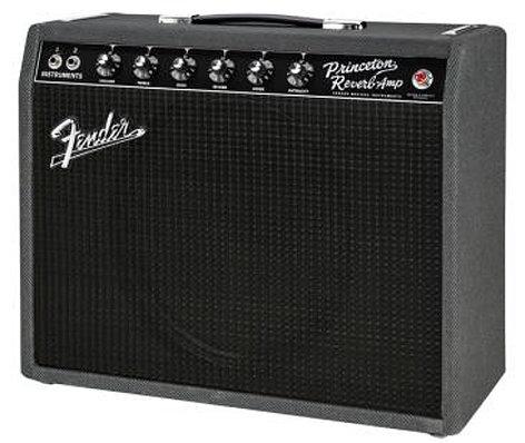 Fender 68 Custom Princeton Reverb [DISPLAY MODEL] Black & Blue Limited Edition 15W 1x12 Tube Combo Amp PRINCETON-68-CST-DIS