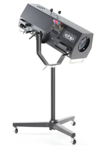 Phoebus Manufacturing Ichip Mystére 120V LED Followspot with Included Medium Duty Stand ICM-150/120